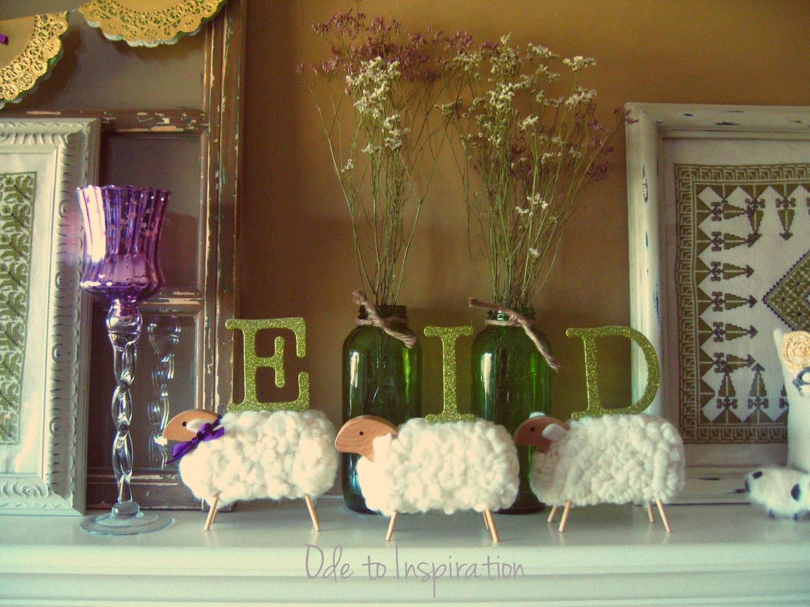 Great Homemade Eid Al-Fitr Decorations - Eid-lambs-Decorations1  Snapshot_246881 .jpg