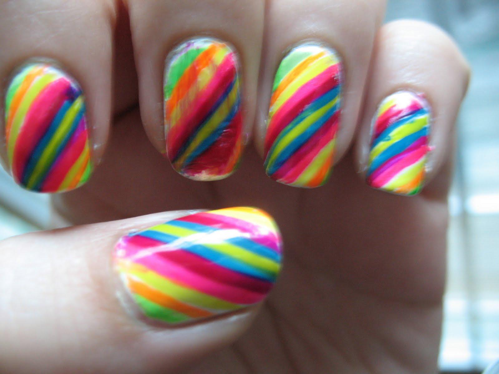 Накрасить ногти с рисунком фото