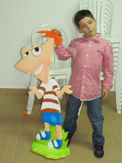 FIESTA TEMATICA PHINEAS AND FERB