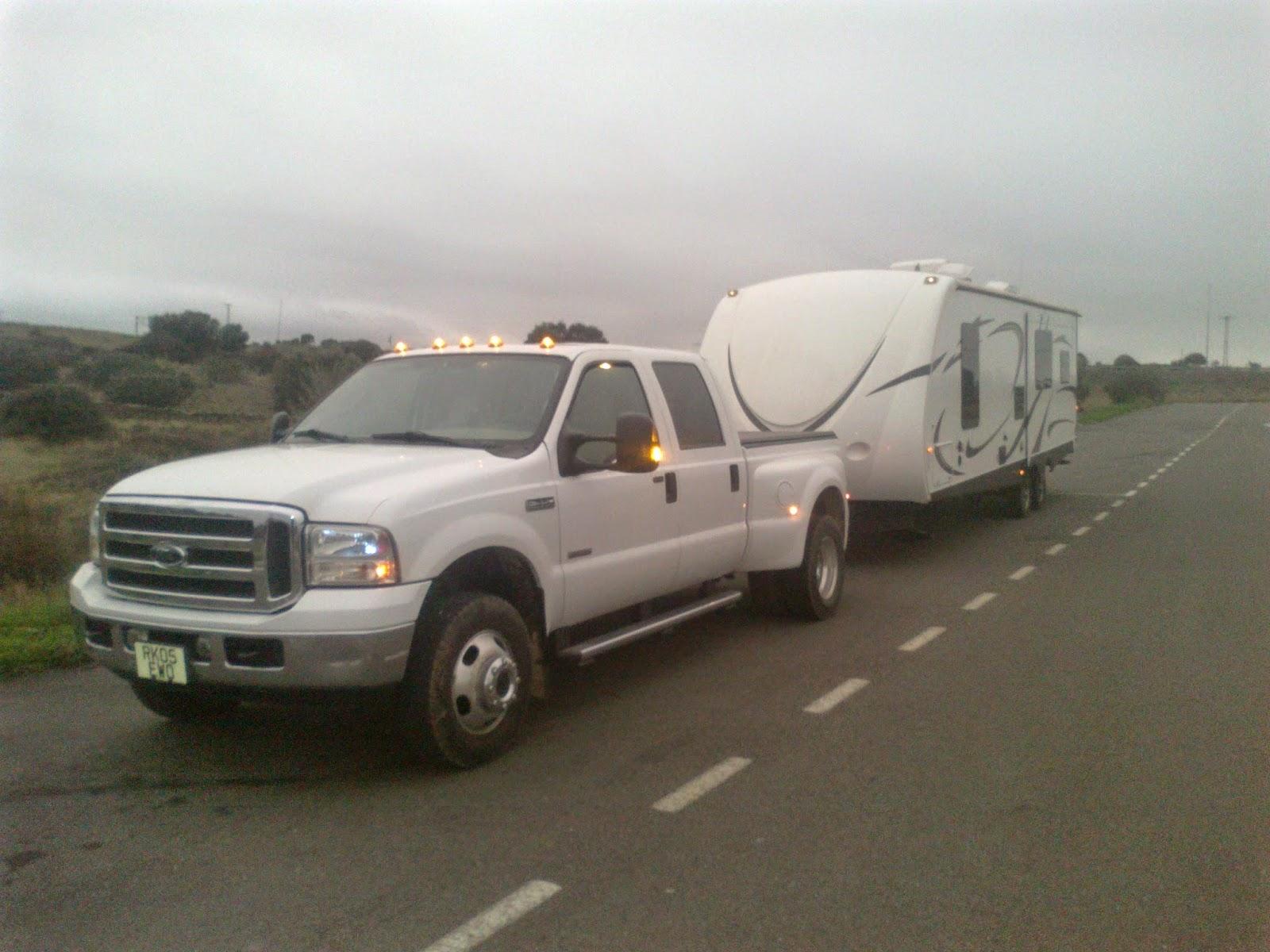 European caravan delivery