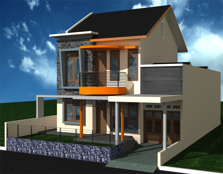 minimalis 2 lantai, gambar rumah minimalis sederhana, gambar pagar