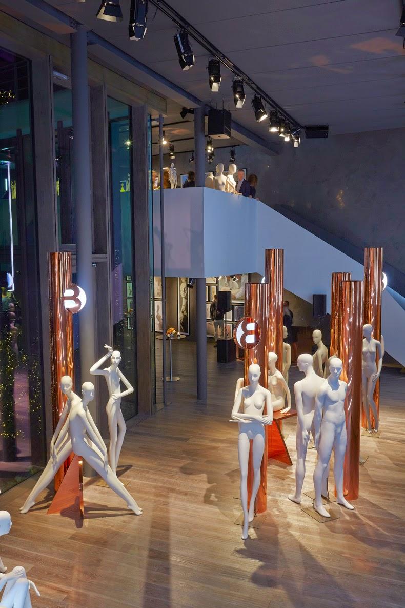 Bonaveri Milano, showroom, Chameleon Visual