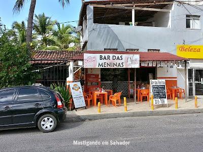 Bar das Meninas: Fachada