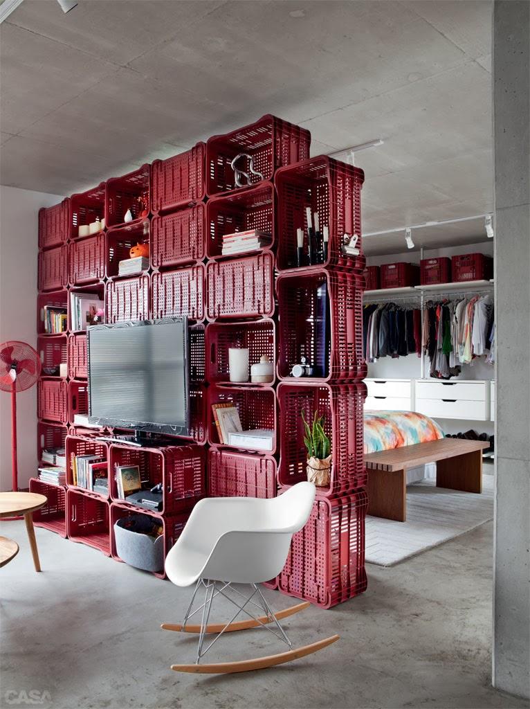amenajari, interioare, decoratiuni, decor, design interior , lazi, rosu, biblioteca