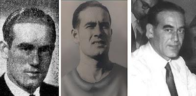 El futbolista y después ajedrecista Esteve Pedrol en 1946, 1936 y 1951