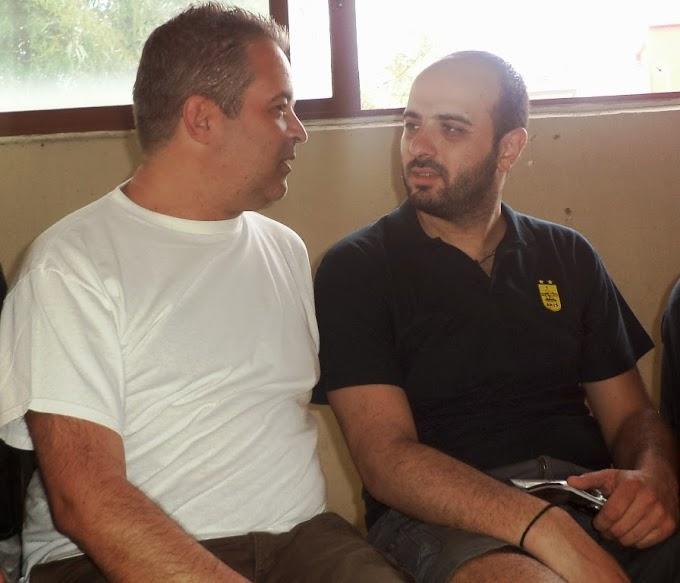 """Κεσαπίδης: «Αφήνω την """"οικογένεια"""" μου και ευχαριστώ όλους για τη συνεργασία»"""