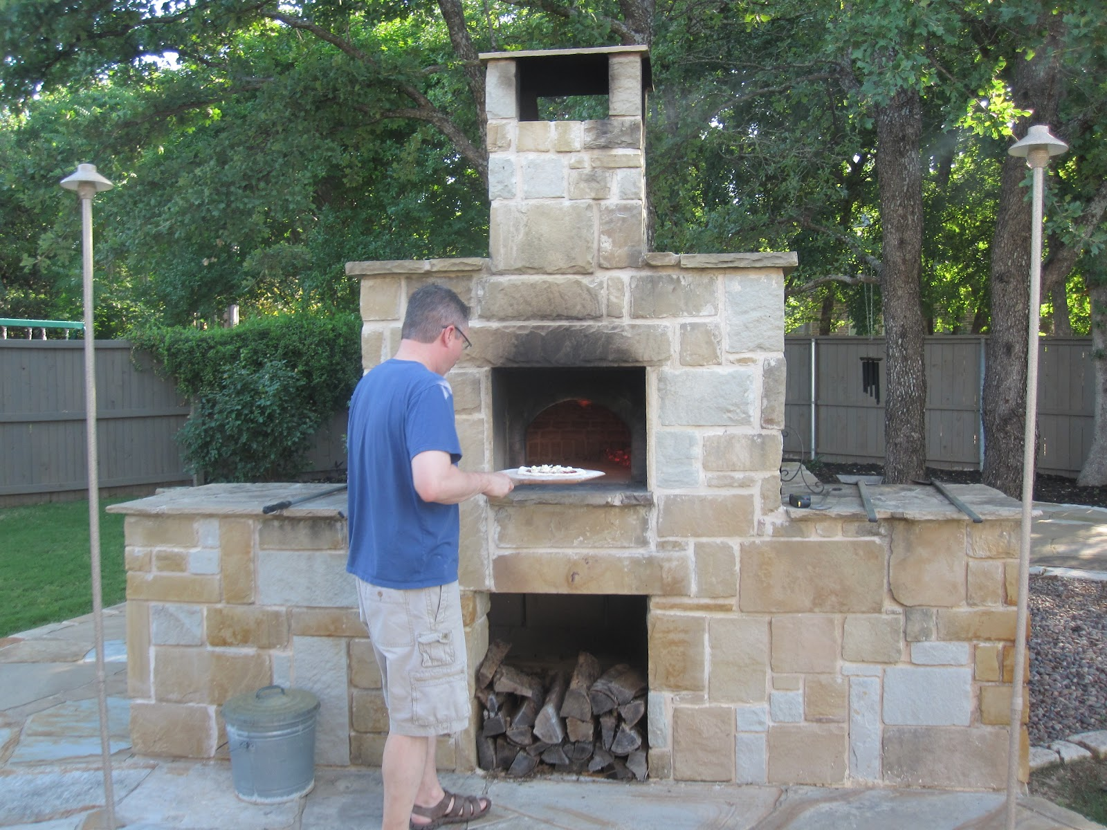 DIY Outdoor Pizza Ovens WoodBurning