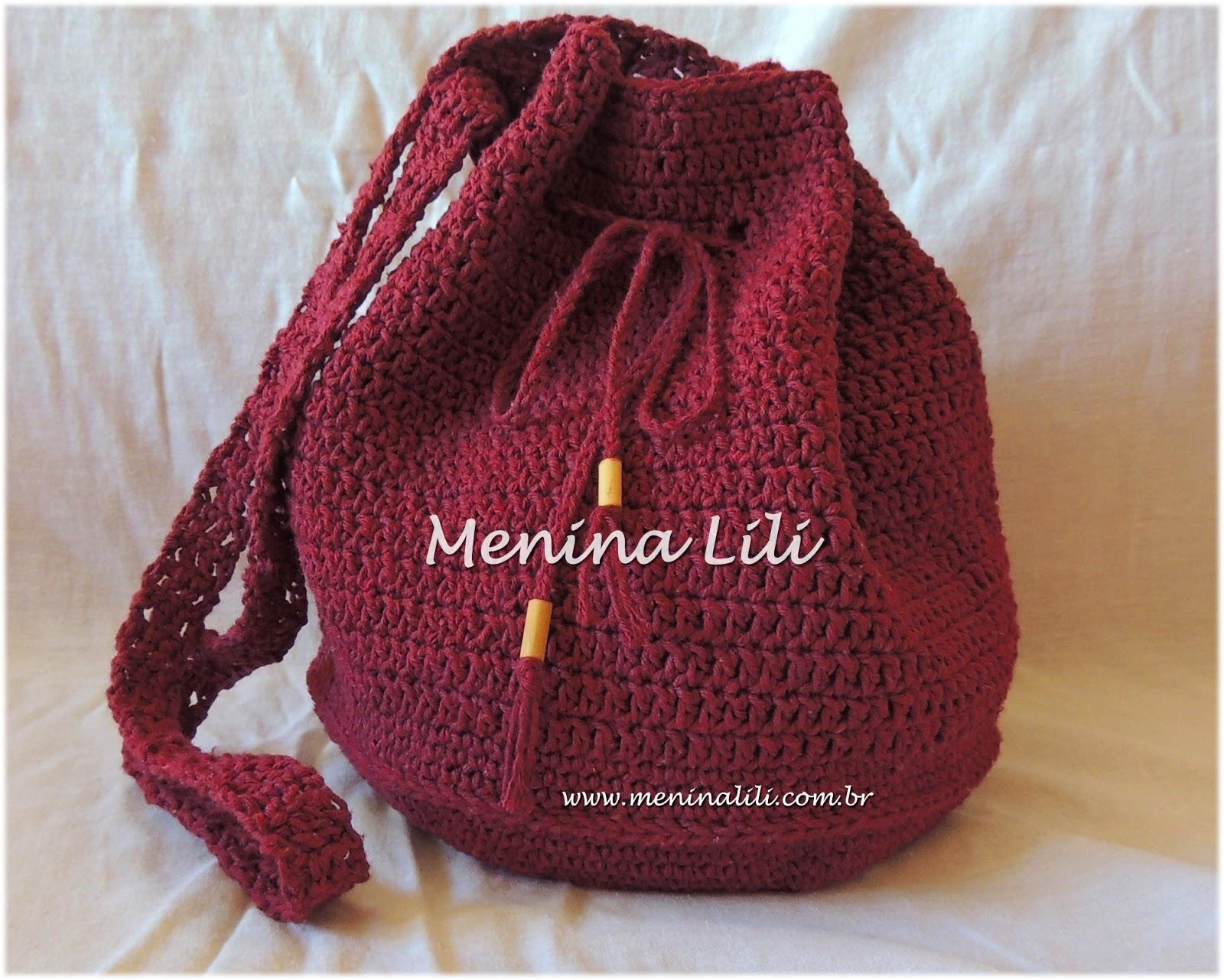 Bolsa De Festa Em Croche Passo A Passo : Menina lili croche bolsa em croch? gabriela bord? tamanho