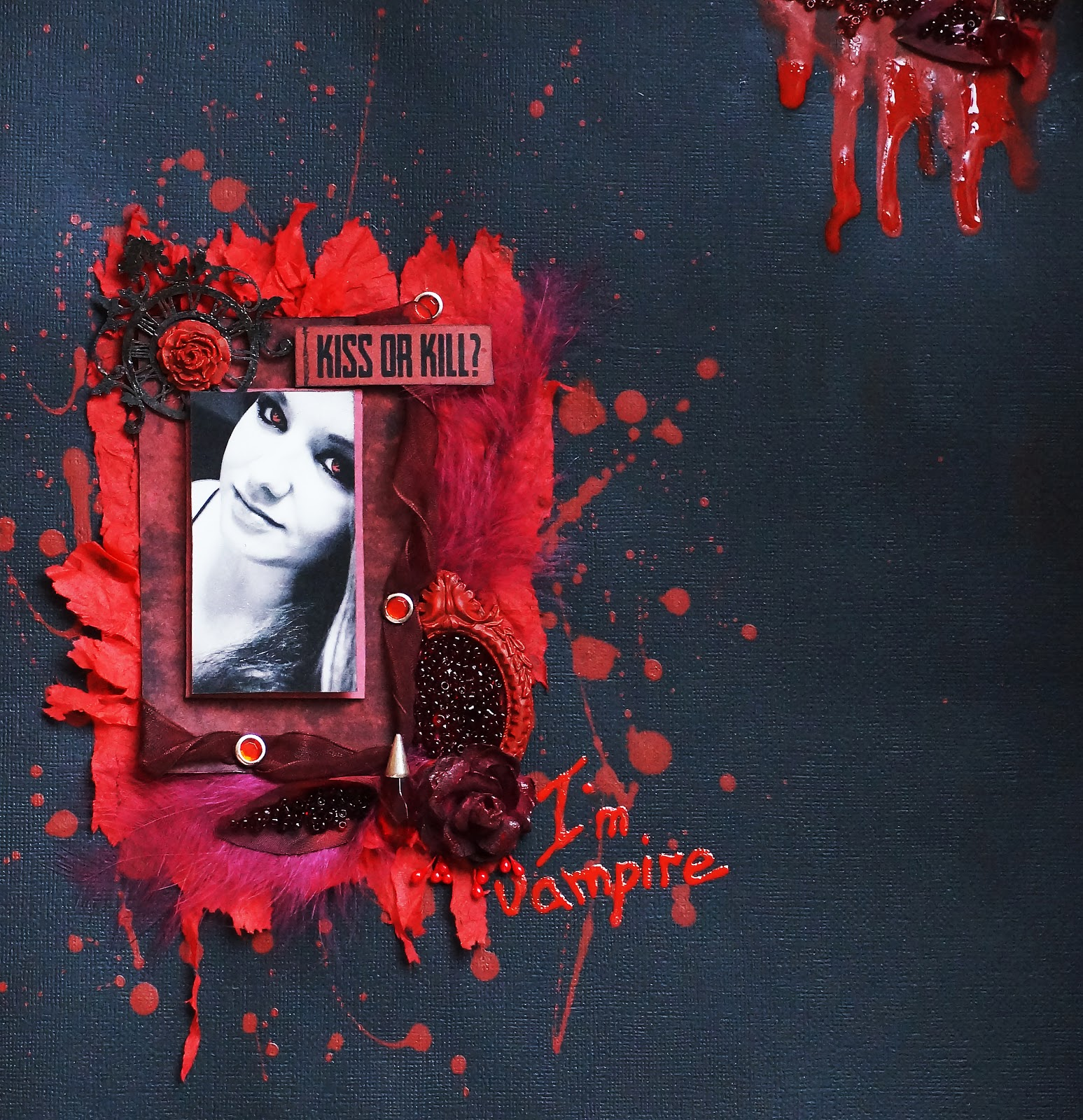 I'm vampire. Страничка для Хэллуина..