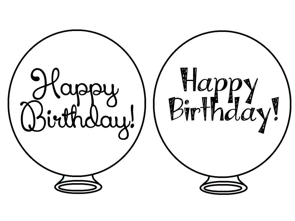 Tips Amp Tricks Teaching Freebie Birthday Balloons