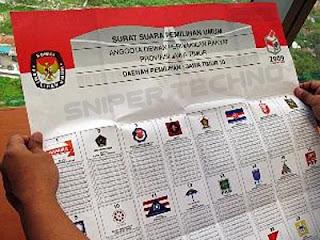 Tahapan Pemilihan Legislatif 2014