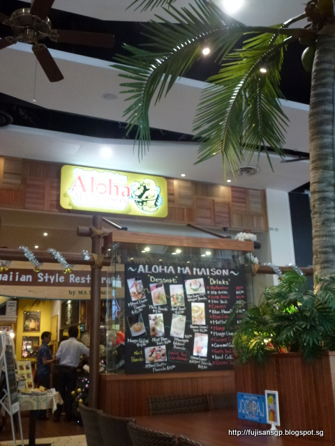 Delicious food in singapore and the uk for Aloha ma maison singapore