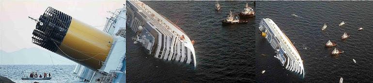 5)Гибель Коста-Конкордии - Титаника 21-го века.