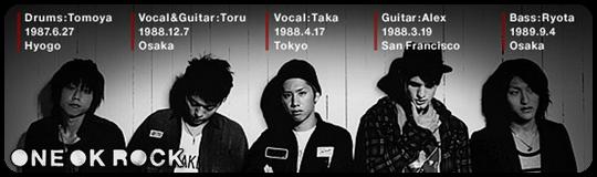 Лучший j-rock из Японии от One OK Rock
