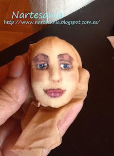 tutorial muñecas cara pintada