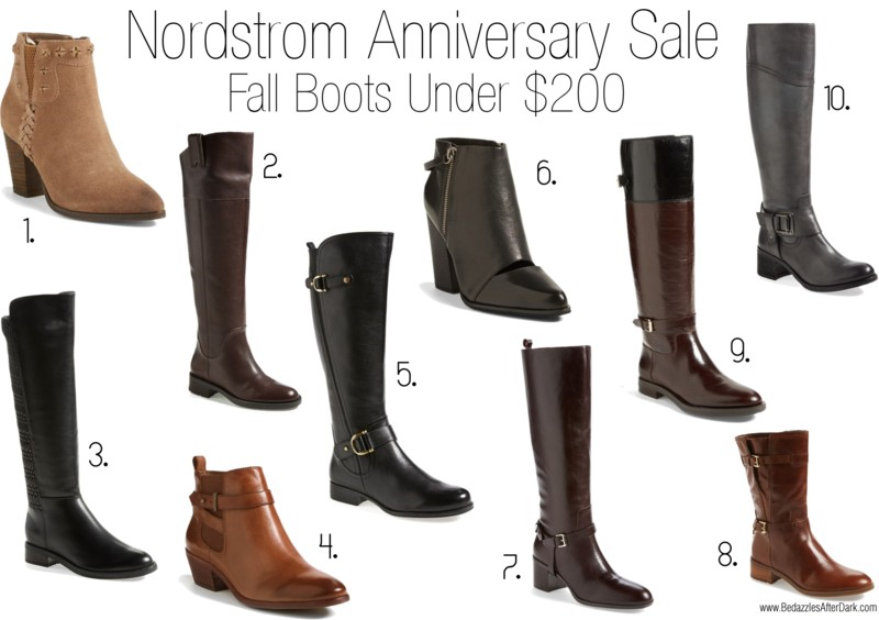 Fall 2014 Boots at Nordstrom