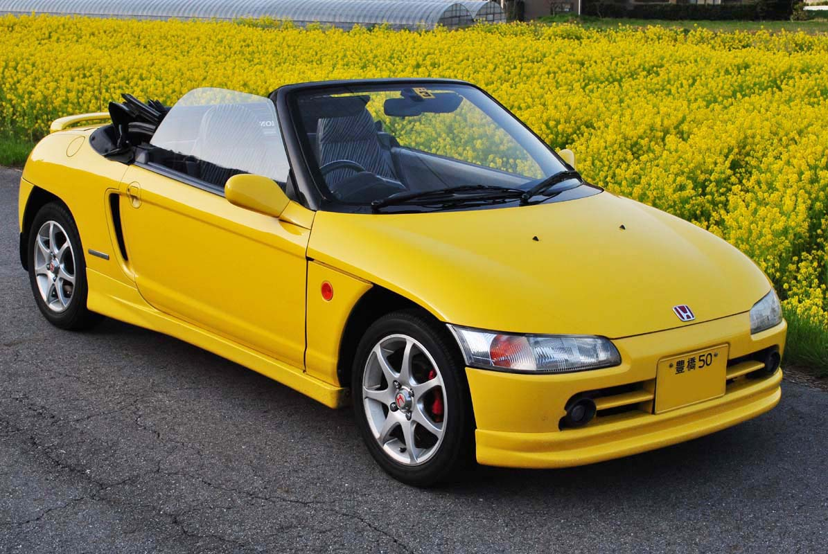 Honda Beat, kei car, roadster, typowa Honda, ciekawe samochody, unikalne auta, mało znane modele, motoryzacja z lat 90