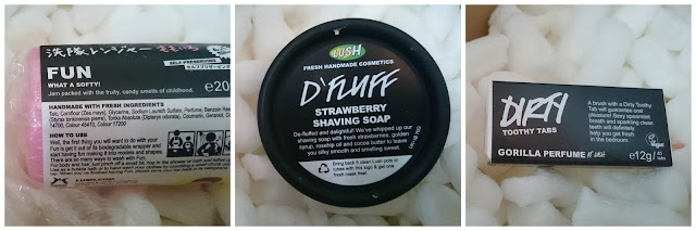 Lush Dirty Toothy Tabs