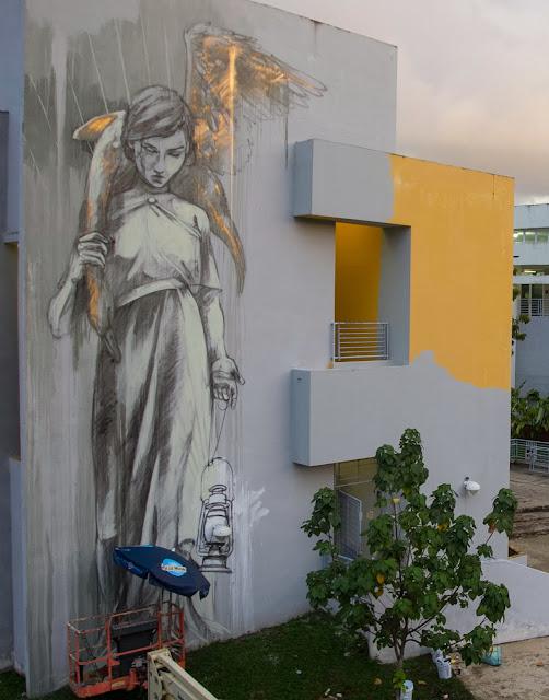 Work In Progress By Faith47 For Los Muros Hablan In Puerto Rico. 4