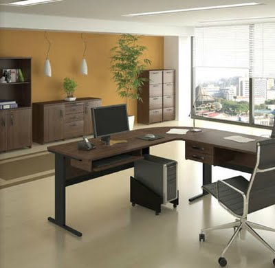 Escritorio decorando interiores for Muebles de oficina lujosos