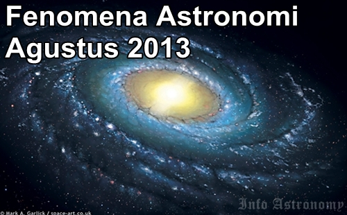 Wajib Lihat! Daftar Fenomena Astronomi Agustus 2013