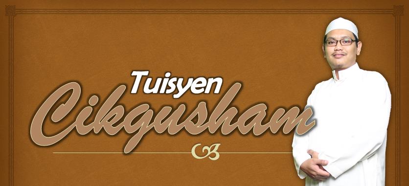 Blog Tuisyen Cikgusham