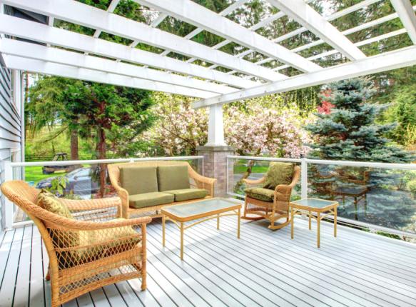Tendances mobilier de jardin des couleurs et des formes Mobilier jardin couleur
