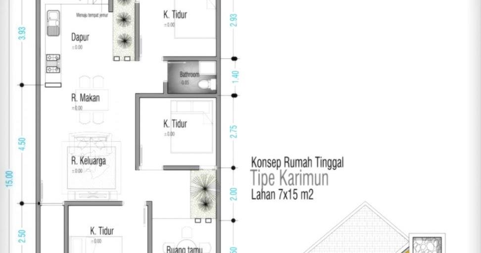 gambar dan denah rumah design rumah minimalis