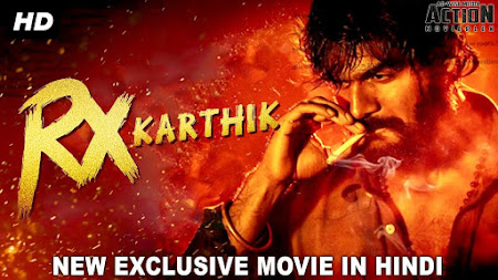 Poster Of Rx Karthik In Hindi Dubbed 300MB Compressed Small Size Pc Movie Free Download Only At worldfree4u.com