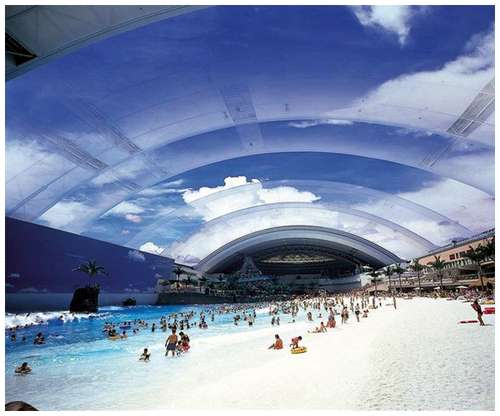 Dubai best hotels world 39 s biggest indoor swimming pool for What is the biggest swimming pool in the world