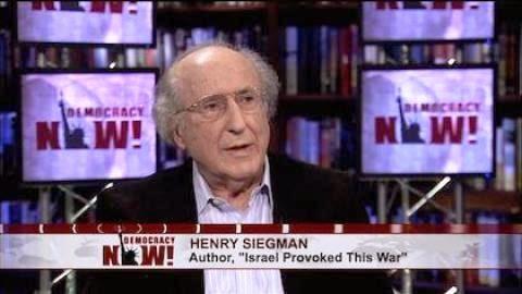 Henry Siegman, uma importante voz judia a favor da paz