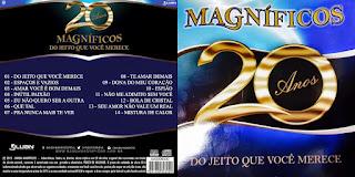 CD Banda Magnificos – 20 Anos – Do jeito Que Você Merece (2015)