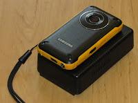 Видеокамера и аккумулятор