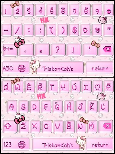 Hello Kitty Keyboard Themes Hello Kitty Keyboard