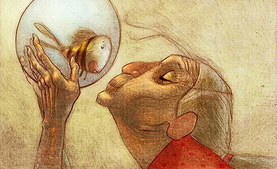 Ilustración de Henry González
