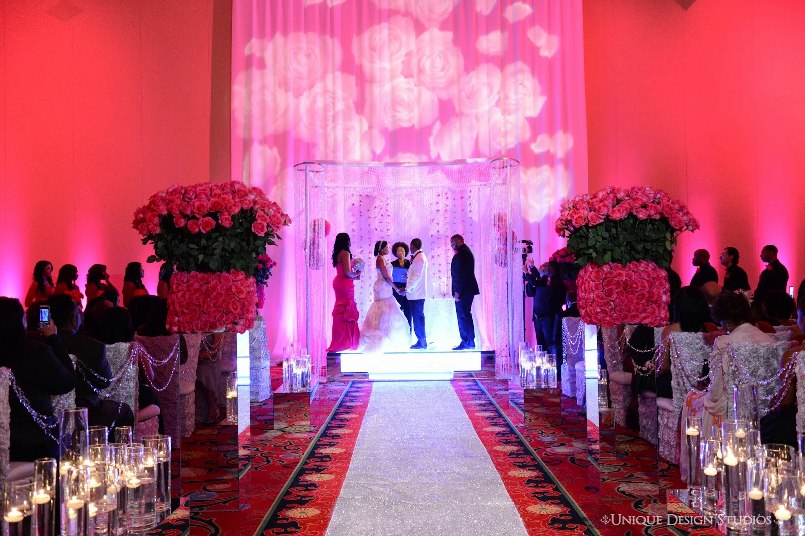 Dream Design Weddings By Tiffany Cook Real Weddings Round Up Pink Details