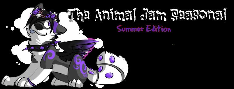 The Animal Jam Seasonal-Summer Edition