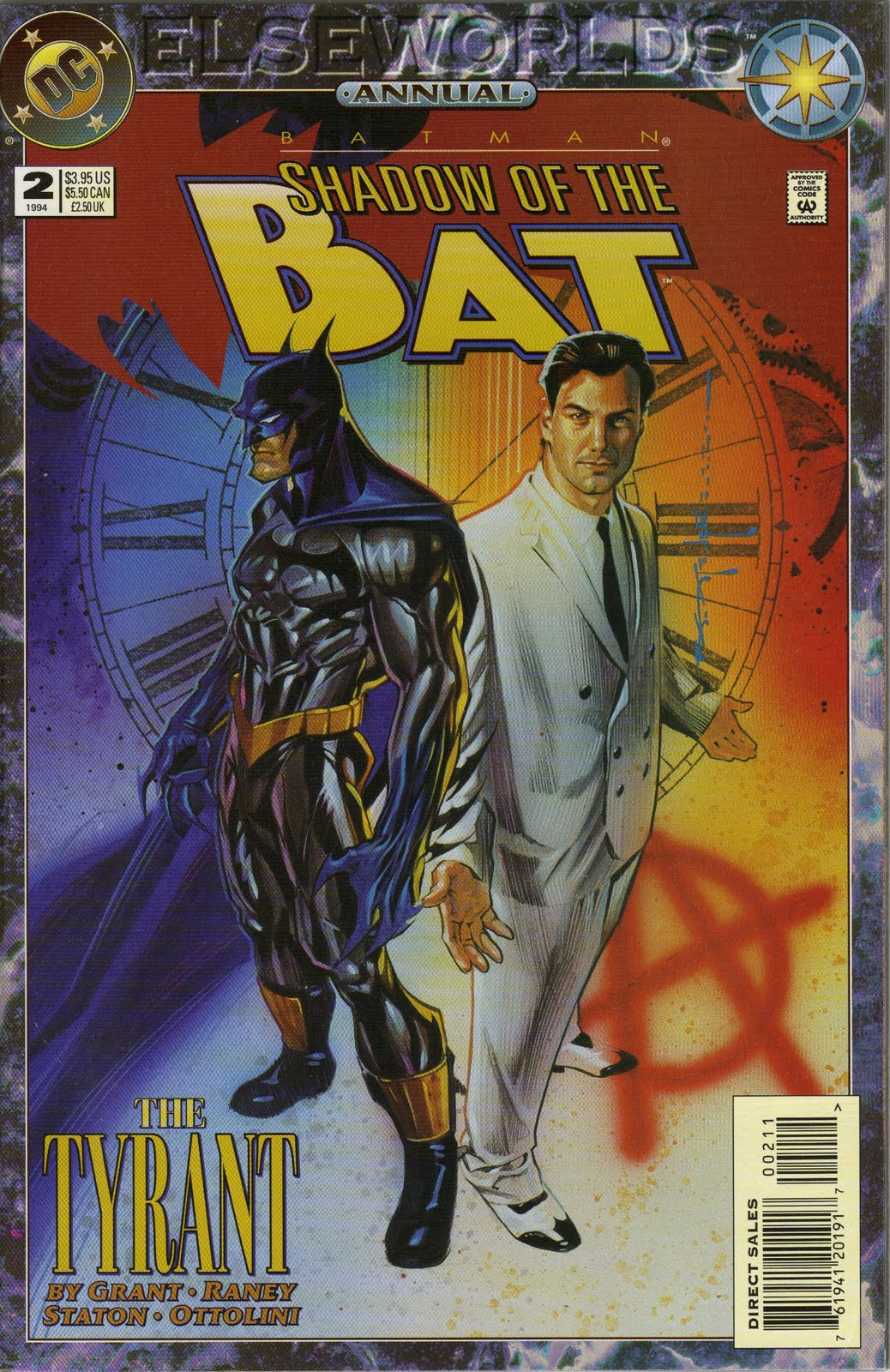Shadow Of The Bat Annual 3 Download