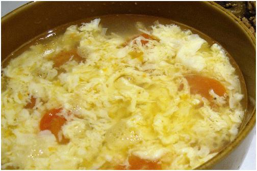 Good food recipes » Egg flower soup recipe easy