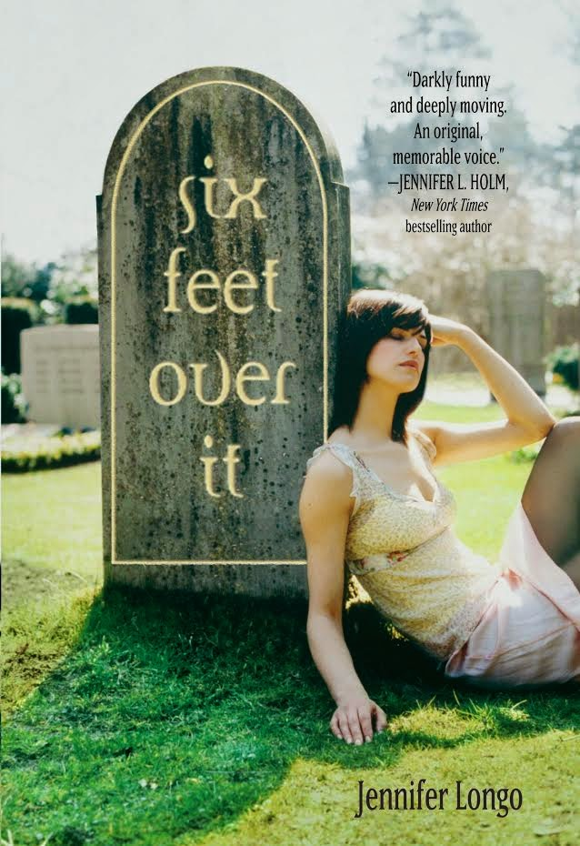 https://www.goodreads.com/book/show/18769271-six-feet-over-it?ac=1