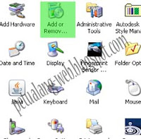 cara menghapus program file (remove)