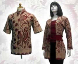 Model baju batik modern 01dn
