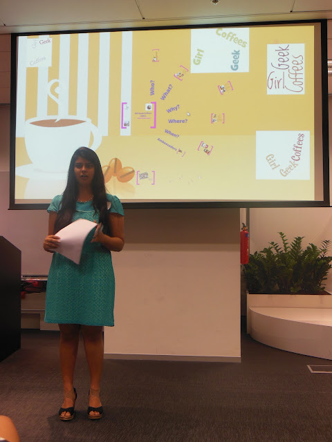 Jaksha Shah, Girls Geek Coffee, Singapore, First Meetup @ Asia One Square, Google office, GGC, GGCS