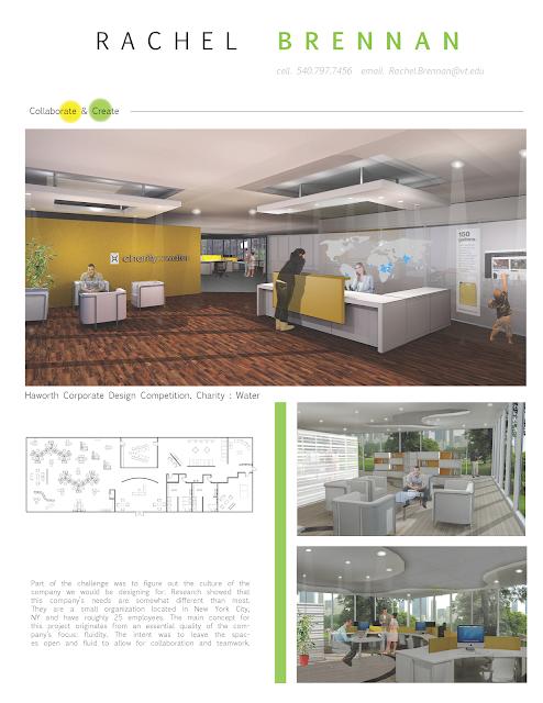 Interior design student resume