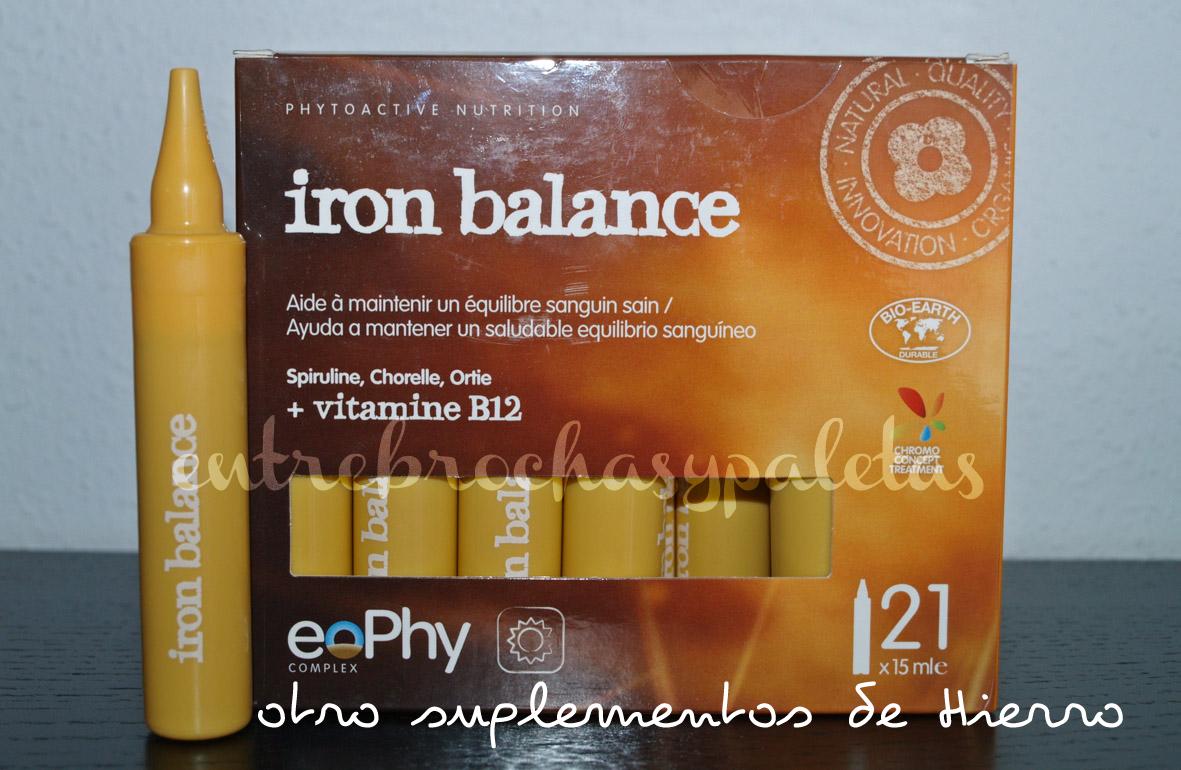iron balance eophy hierro