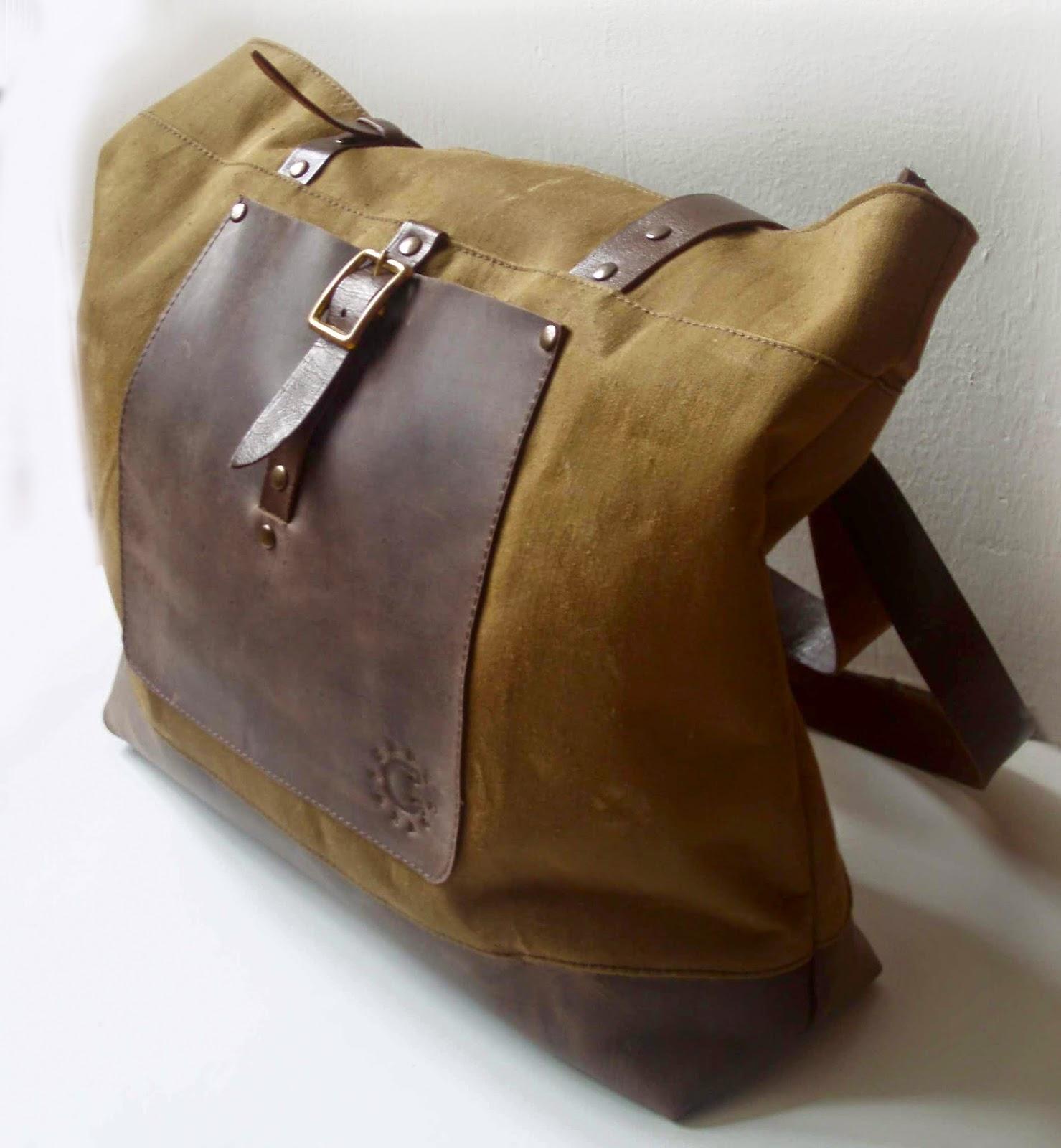 Мужская сумка из брезента своими руками 82