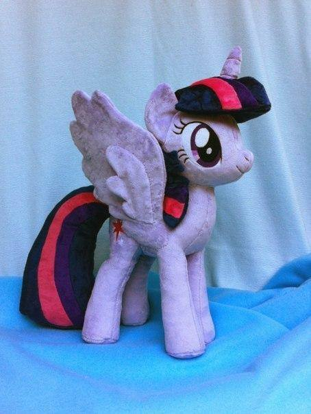 Как сшить пони из май литл пони 56