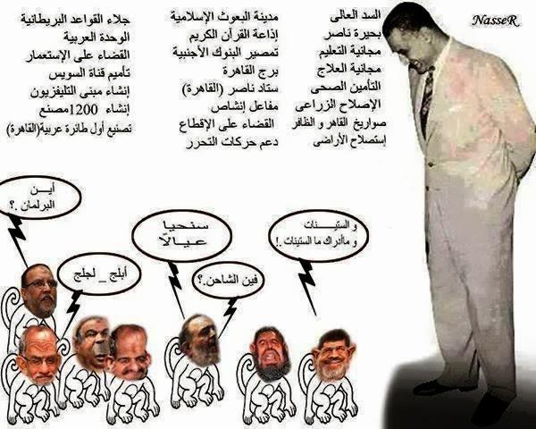 الرئيس جمال عبدالناصر هو صاحب نصر اكتوبر عسكرياً