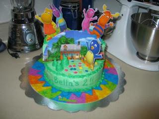 Beautiful Backyardigans Birthday Cake