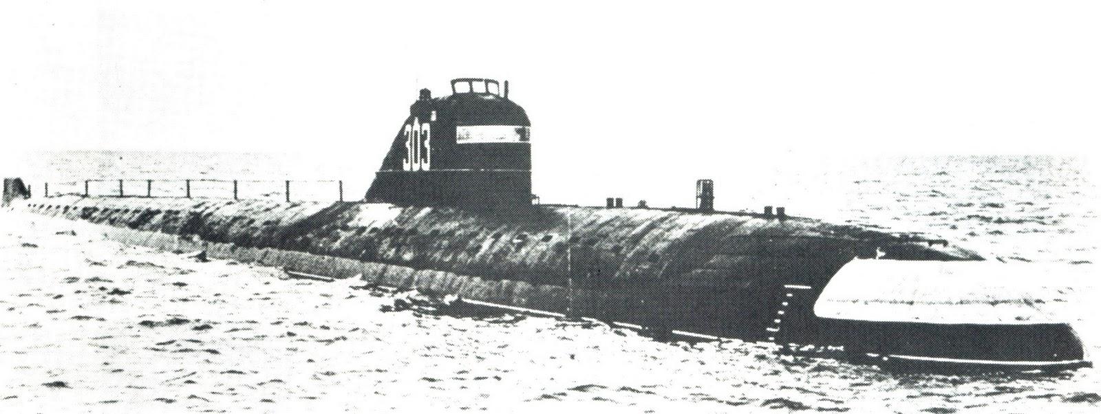 первая атомная лодка